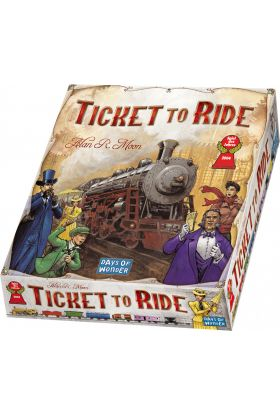 Spill Ticket To Ride Usa