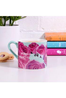 Krus Floral Ceramic Mug