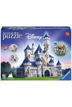 Puslespill Ravensburger 3D Disney Castle 216