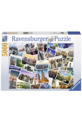 Puslespill Ravensburger 5000 New York City