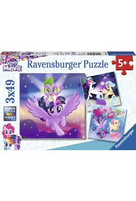 Puslespill Ravensb 3X49 My Little Pony
