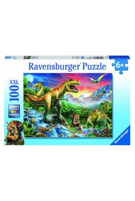 Puslespill Ravensburger Dinosaur 100