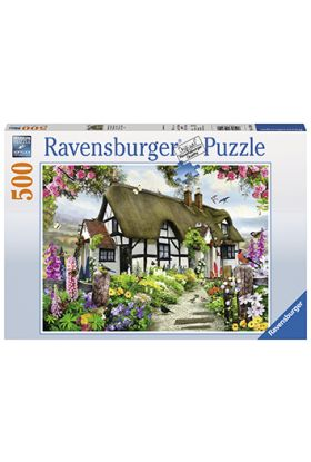 Puslespill Ravensburger Dream Cottage 500