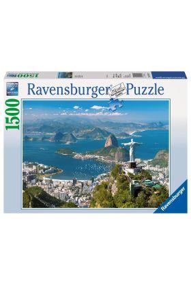 Puslespill Ravensburger 1500 Rio De Jane