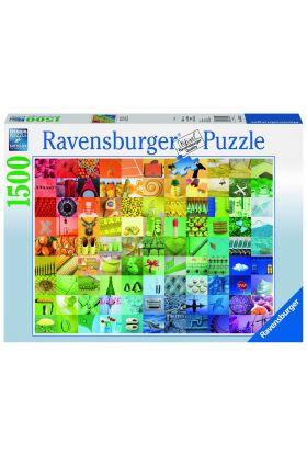 Puslespill Ravensburger 99 Colors 1500