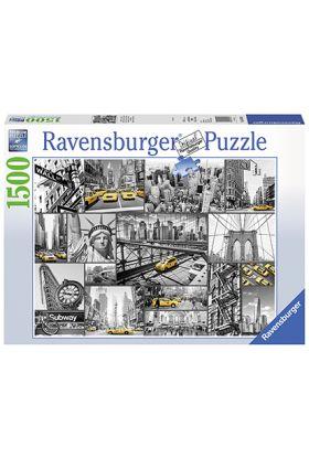 Puslespill Ravensb New York 1500