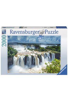 Puslespill Ravensburger 2000 Waterfall