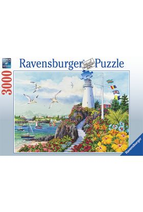 Puslespill 3000 Coast Paradise Ravensburger