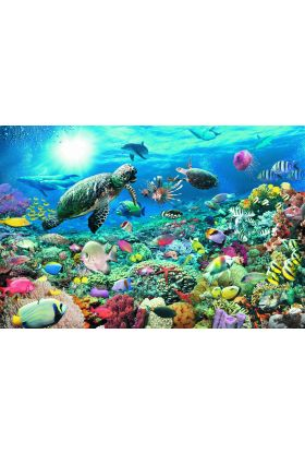 Puslespill Ravensburger 5000 Beneath The Sea