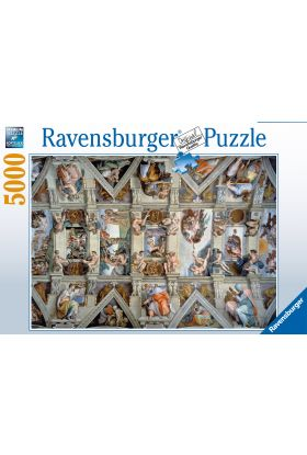 Puslespill 5000 Sistine Chapel Ravensburger