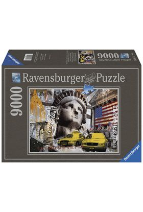 Puslespill 9000 New York Ravensburger