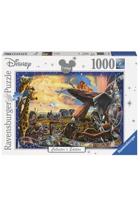 Puslespill Ravensburger Disney Lion King 1000