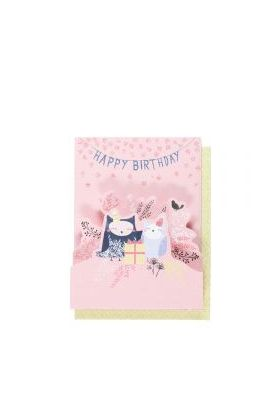 Systemkort Pc Owl Pop Up Happy Birthday