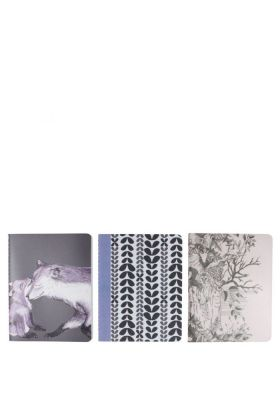 Ff Set Of 3 Notebooks