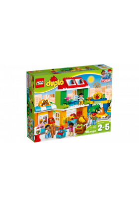Lego Landsbytorg 10836