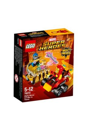 Lego Mighty Micros: Iron Man mot Thanos 76072