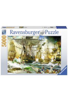 Puslespill Ravensburger 5000 Ship Battle