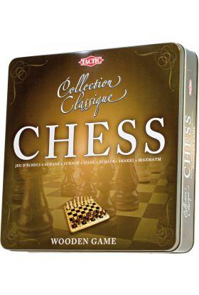 Spill Sjakk I Tinnboks