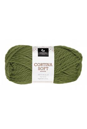 Garn Gjestal Cortina Soft 50g Grønn