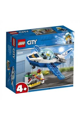 Lego Politi Med Jagerfly 60206