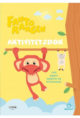 Aktivitetsbok Fantorangen Med Klistremerker