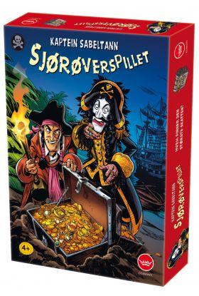 Spill Kaptein Sabeltann Sjørøverspillet