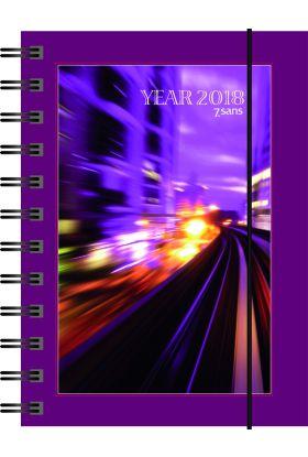 7.Sans Year Classic A6 Spiralisert Plast 2020
