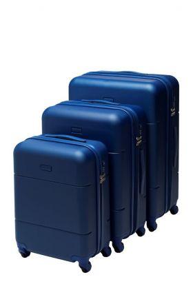Koffertsett 7050 Beckmann 3 Blue