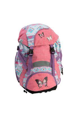 Sekk 1Kl. Troll 22L Pink Butterfly