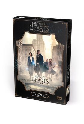 Puslespill 1000 Harry Potter Fantastic Beasts