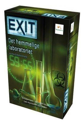 Spill Exit-Det Hemmelige Rommet Escape Room