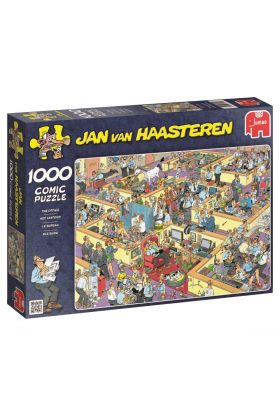 Puslespill 1000 The Office Jan van Haasteren