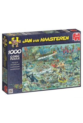 Puslespill 1000 Deap Sea Fun Jan van Haasteren