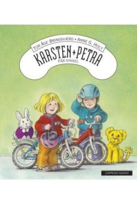 Karsten og Petra får sykkel
