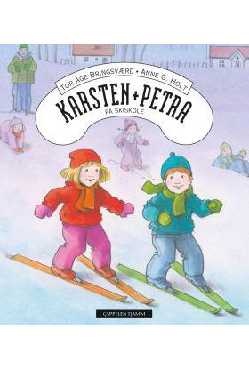 Karsten og Petra på skiskole