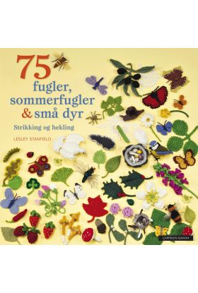 75 fugler, sommerfugler & små dyr