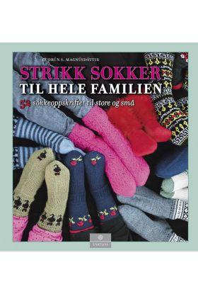 Strikk sokker til hele familien
