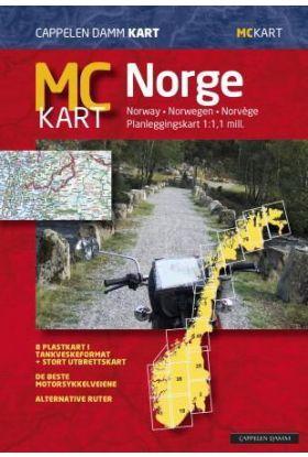 MC kart = MC-map Norway