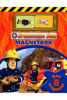 Brannmann Sam magnetbok