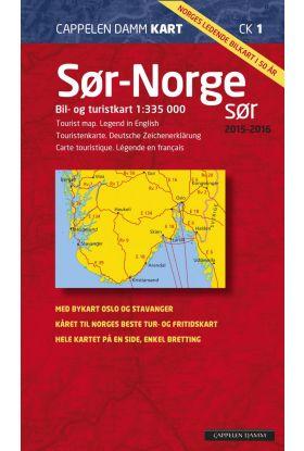 Sør-Norge sør 2015-2016