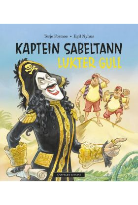 Kaptein Sabeltann lukter gull