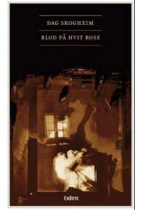 Blod på hvit rose