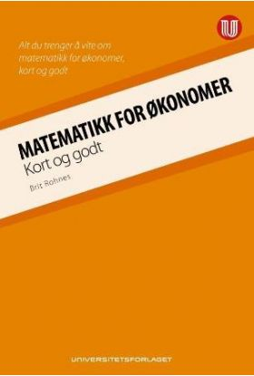 Matematikk for økonomer