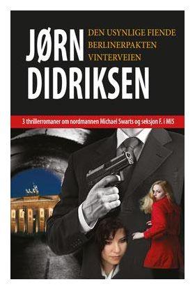 3 thrillerromaner om nordmannen Michael Swarts og seksjon F. i MI5