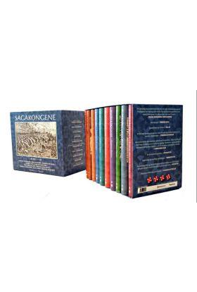 Sagakongene. Bd. 1-10