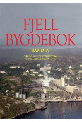 Fjell bygdebok. Bd. IV