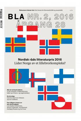 BLA - Bokvennen litterær avis. Nr. 2 2016