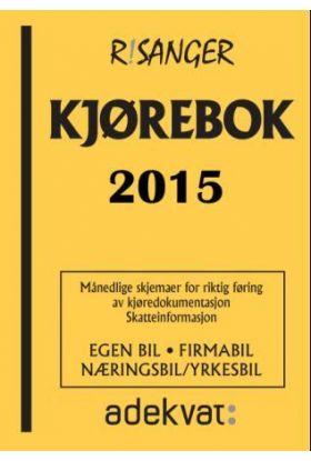 Kjørebok 2015