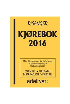 Kjørebok 2016