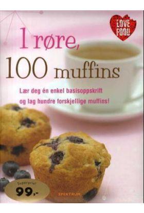 1 røre, 100 muffins